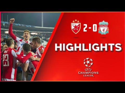 Crvena zvezda - Liverpul 2:0 | Liga šampiona, 4. kolo grupe C (06.11.2018.), highlights