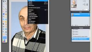 Работа в программе фотошоп-онлайн, добавление резкости, замена фона, ретуш портрета(Ссылка на страницу с программой - http://foto.algol-res.ru/foto-onlain.html В видео-уроке на практике показано как увеличить..., 2014-07-06T06:11:13.000Z)