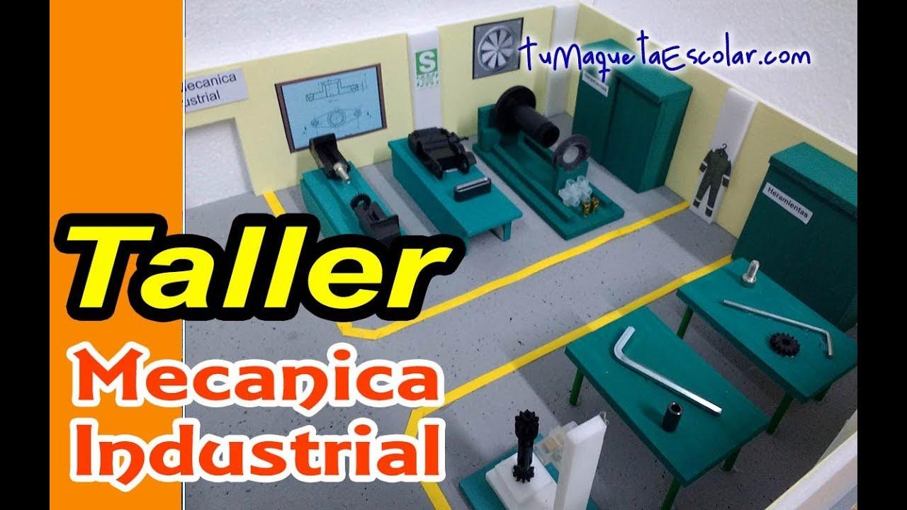 👨🔧Taller 🔧🔨 Mecanica Industrial
