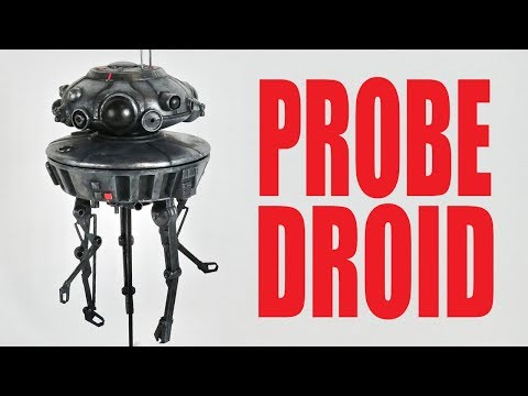 3D Printing And Painting A Probe Droid Model