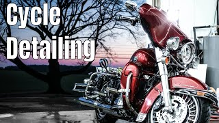 How we detail a Harley Davidson Motorcycle