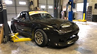The LS Miata Goes Under The Knife! And We Have Insane Racing at League Night!