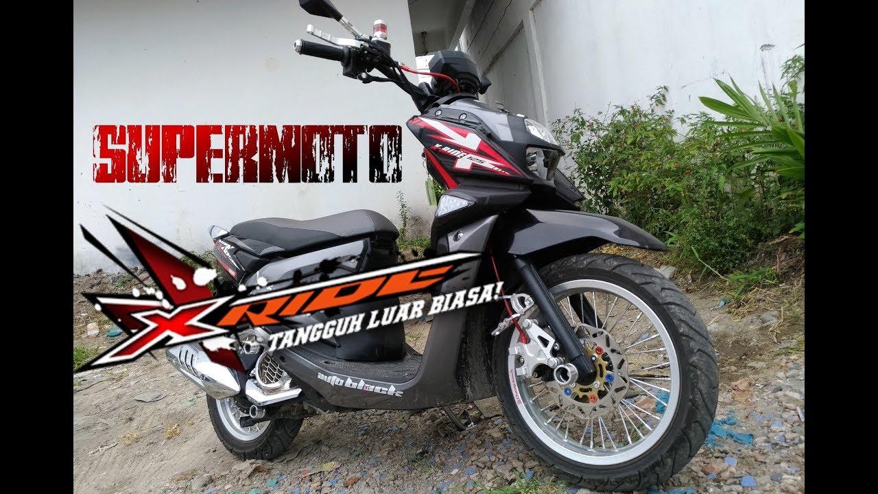 94 Gambar Modifikasi Yamaha X Ride 2018