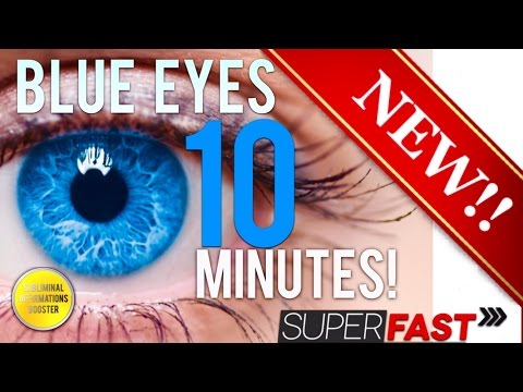 How to change your eye color naturally at home to blue