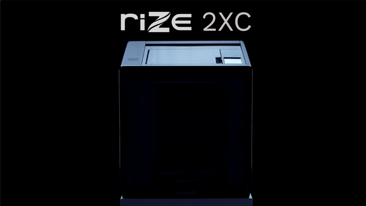 Launching The RIZE 2XC - 3D Printer