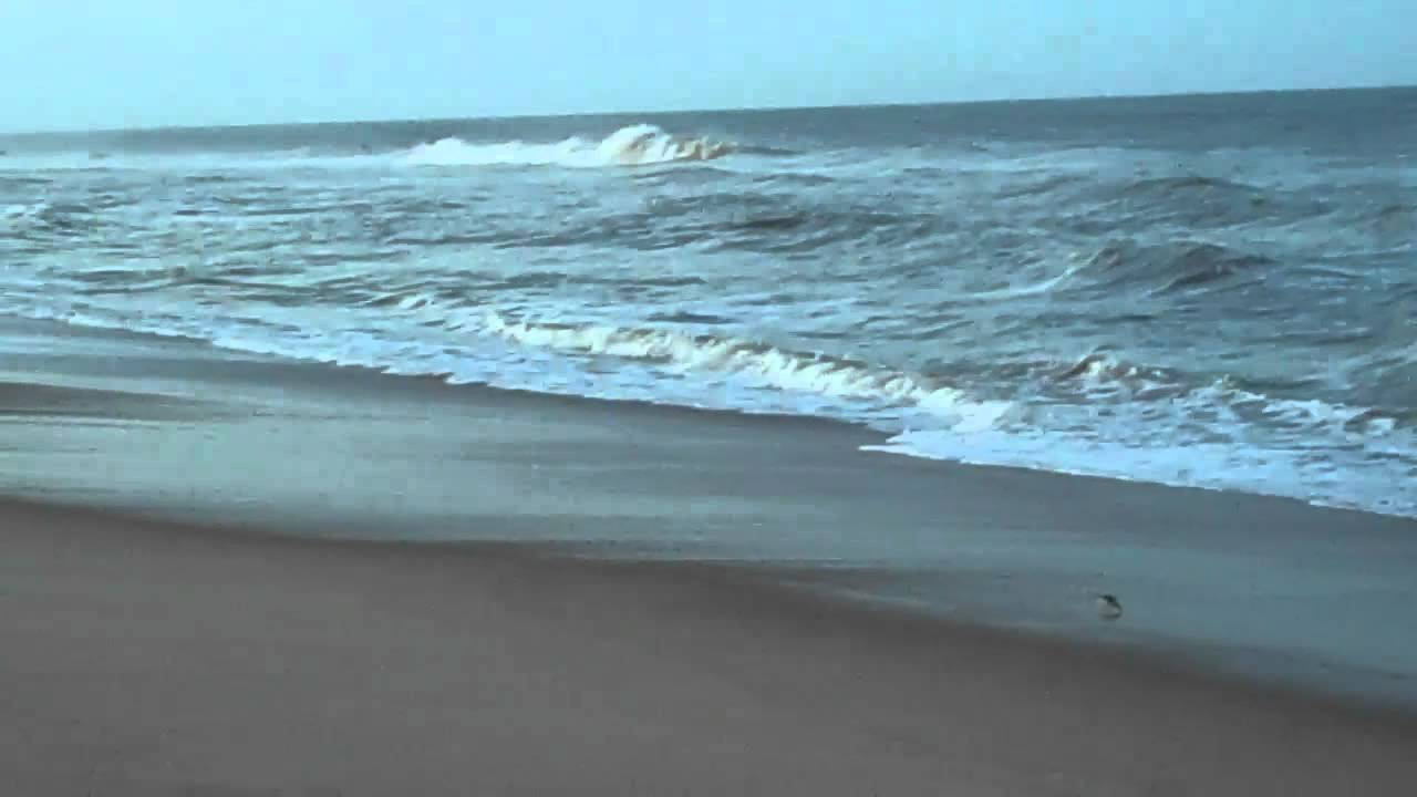 Outer Banks Nags Head North Carolina Surfing Waves On The Beach