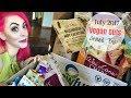 Vegan Cuts Snack Box (July 2017) Unboxing {Vegan & Cruelty-Free}