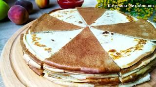 Блины - Полный Восторг! Их ОБОЖАЮТ ВСЕ любители печени! Pancakes / English subtitles