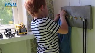DIY - Barnvänlig klädhängare