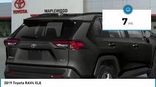 2019 Toyota RAV4 XLE Maplewood, St Paul, Minneapolis, Brooklyn Park, MN K12952