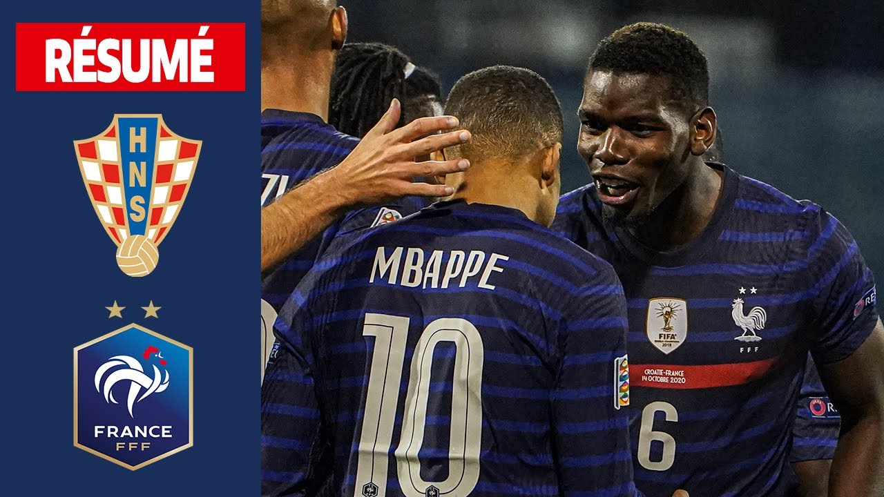 Download Croatie 1-2 France, le résumé I FFF 2020