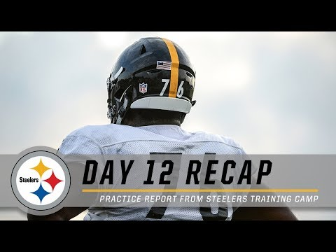 4f9a27fe9 Steelers Nation Radio - Pittsburgh Steelers Training Camp Update - Aug 11th