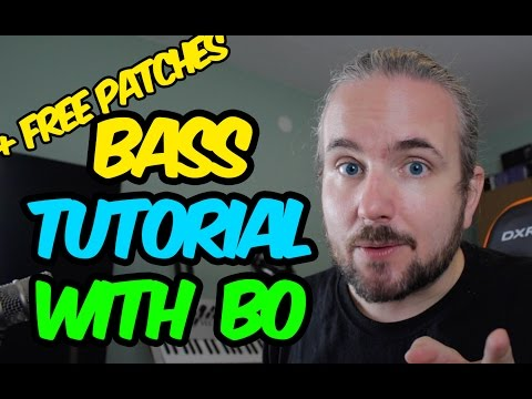 How To Make Circuit Bass Sounds - Making sounds with Bo #3 (TUTORIAL)