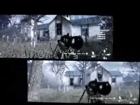 how to get split screen on cod ww2