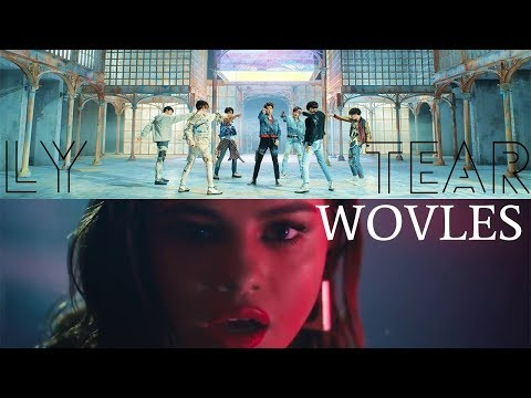"""FAKE LOVE X WOLVES"" - BTS(방탄소년단) & Selena Gomez (Mashup)"