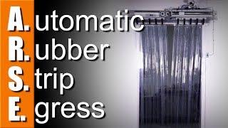A.R.S.E. Automatic Rubber Strip Egress Arduino Door- WW188