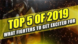 Top 5 Fighting Games To Play in 2019