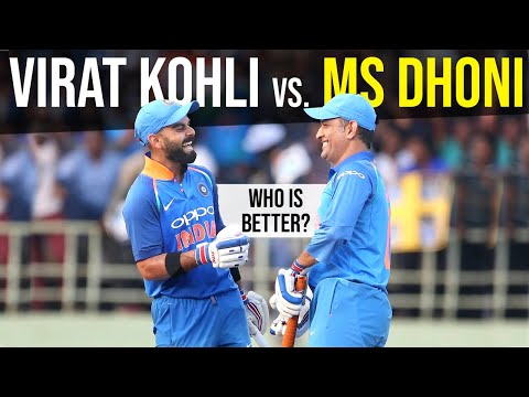 Dhoni vs Kohli - How to be a Good Leader -...
