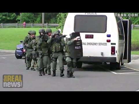 Obama Expands Militarization of Police
