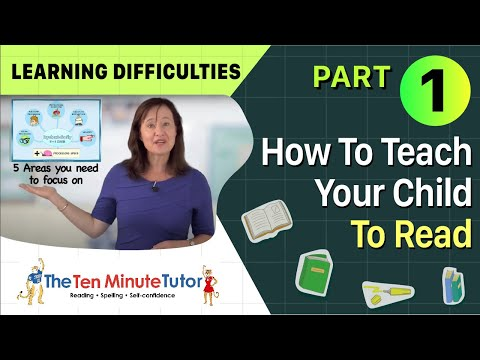 How To Teach Your Child To Read Part 1 Learning Difficulties