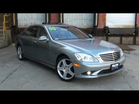 2008 Mercedes Benz S550 4Matic AMG Sport Package   YouTube
