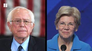 Sanders vs. Warren Feud