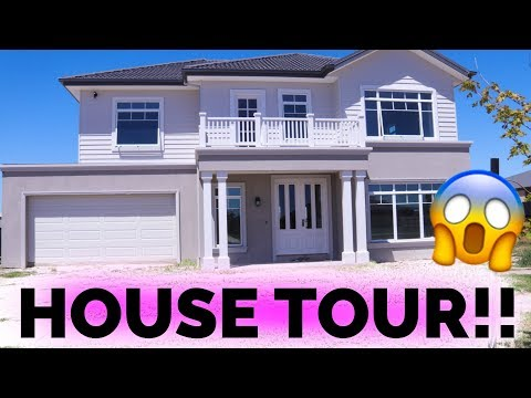 EMPTY HOUSE TOUR!!!!! OUR DREAM HOME!!!