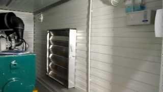 Дизель генератор 200 кВт в контейнере -
