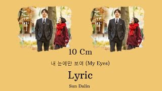 [LYRIC] 10cm – 내 눈에만 보여 (Han-Rom-Eng)