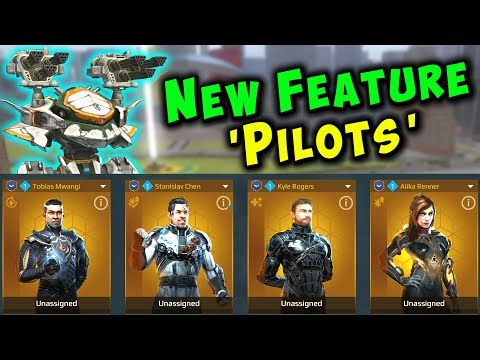 War Robots [5.1] New PILOTS & SKILLS Feature - Test Server Gameplay WR