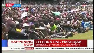 DP Ruto invites Raila to the podium    #MashujaaDay