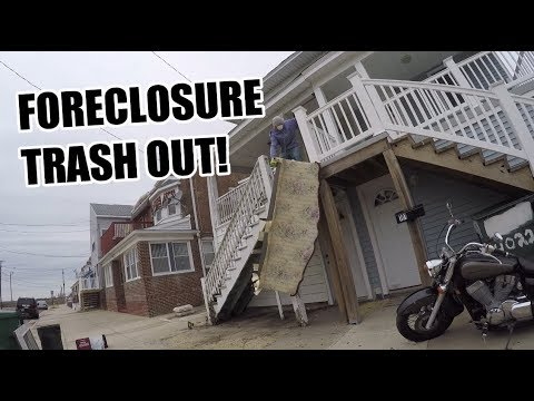 TWO DAY FORECLOSURE TRASH OUT JOB!