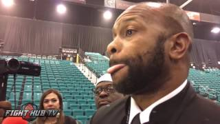 Roy Jones Jr. to Pacquiao