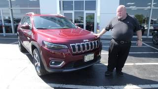 2019 Jeep Cherokee 2.0 Turbo test drive with  Duke at Anderson Jeep in Rockford, IL YouTube Videos