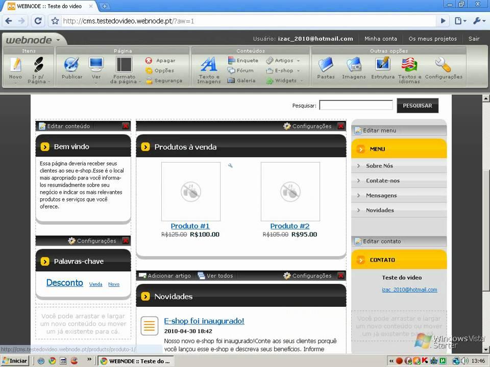 453caef4a Como criar um site de vendas profissional (GRATIS) - YouTube