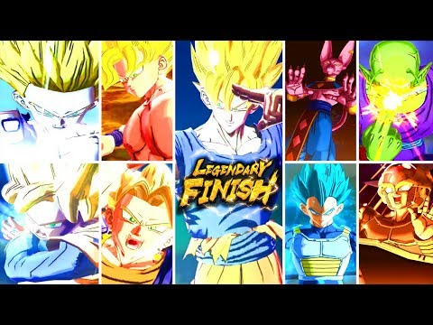 ALL LEGENDARY FINISHES! March 2020 Dragon Ball Legends