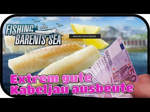 FISHING Barents Sea #023 - Extrem gute Kabeljau ausbeute ★ Fischfang Simulator Deutsch