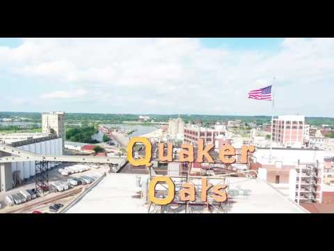 Downtown Cedar Rapids - Drone Footage of the YEAR