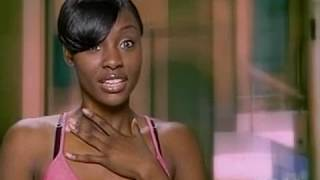 Dionne from America's Next Top Model