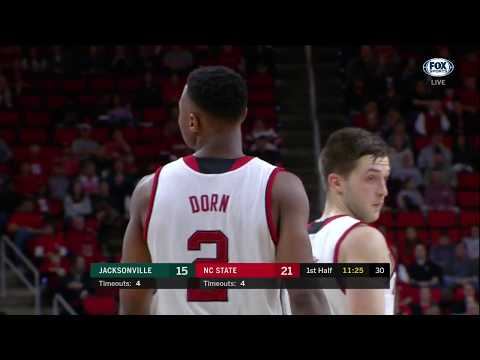 2017.12.22 Jacksonville Dolphins at NC State Wolfpack Basketball