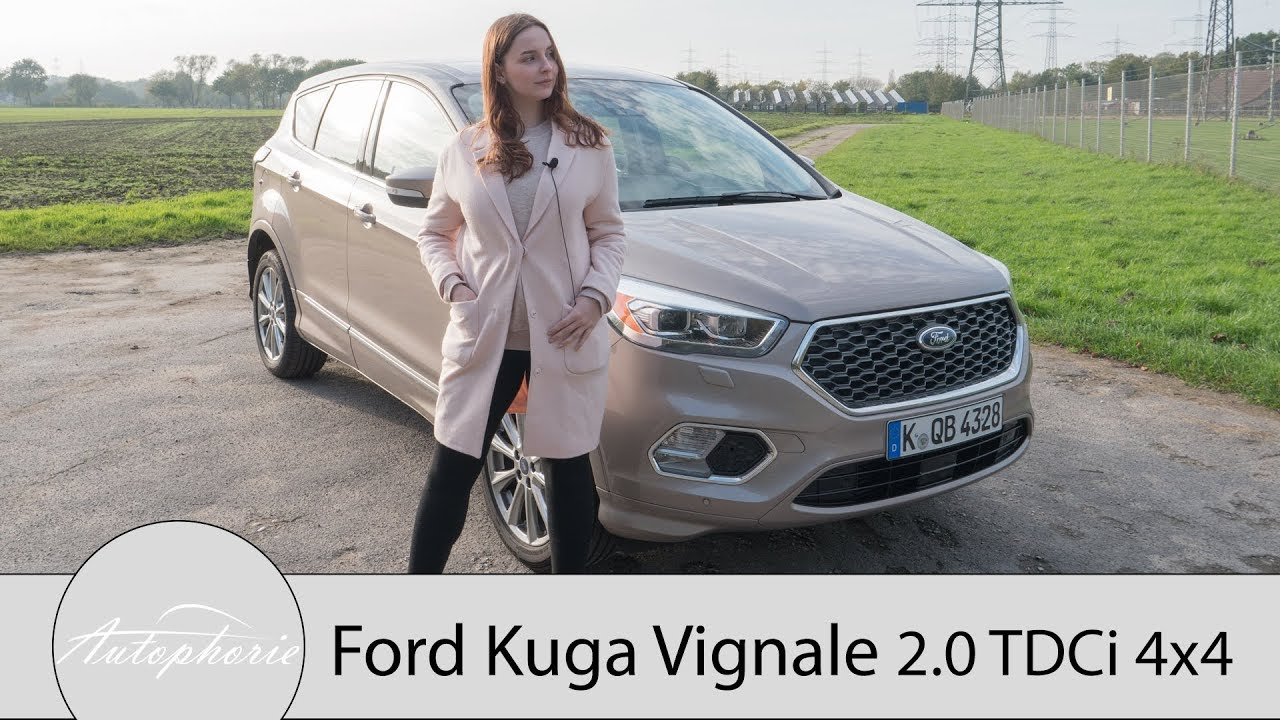 2017 ford kuga vignale 2 0 tdci 4x4 fahrbericht suv mit. Black Bedroom Furniture Sets. Home Design Ideas