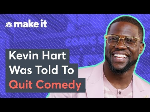 Kevin Hart On Being Told To Quit Comedy