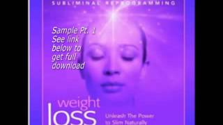 Weight Loss Subliminal Affirmations Subconscious Reprogramming Pt 1 MP3 Kelly Howell