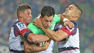 Highlanders vs Melbourne Rebels Super Rugby Rd 19 2018