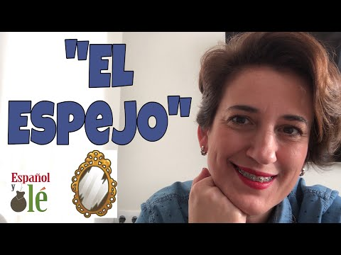 APRENDER ESPAÑOL con HISTORIAS.El ESPEJO.Escucha en Español.Spanish storytelling.Spanish classes#137