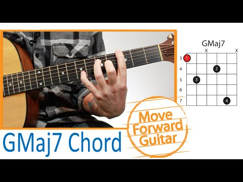 Gmaj7 Guitar Chord @ worshipchords