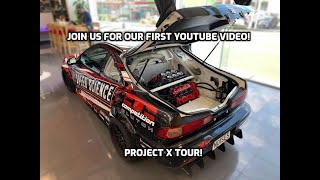 NSX Powered Integra Type R - Our First Youtube Video!