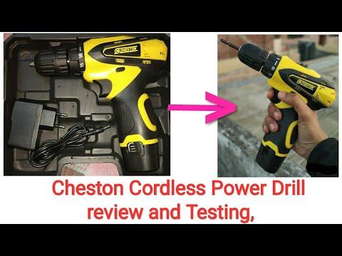 Cheston Power drill(cordless), li-ion battery //Hindi//...