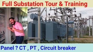 33/11kv substation training , 33/11 kv substation working