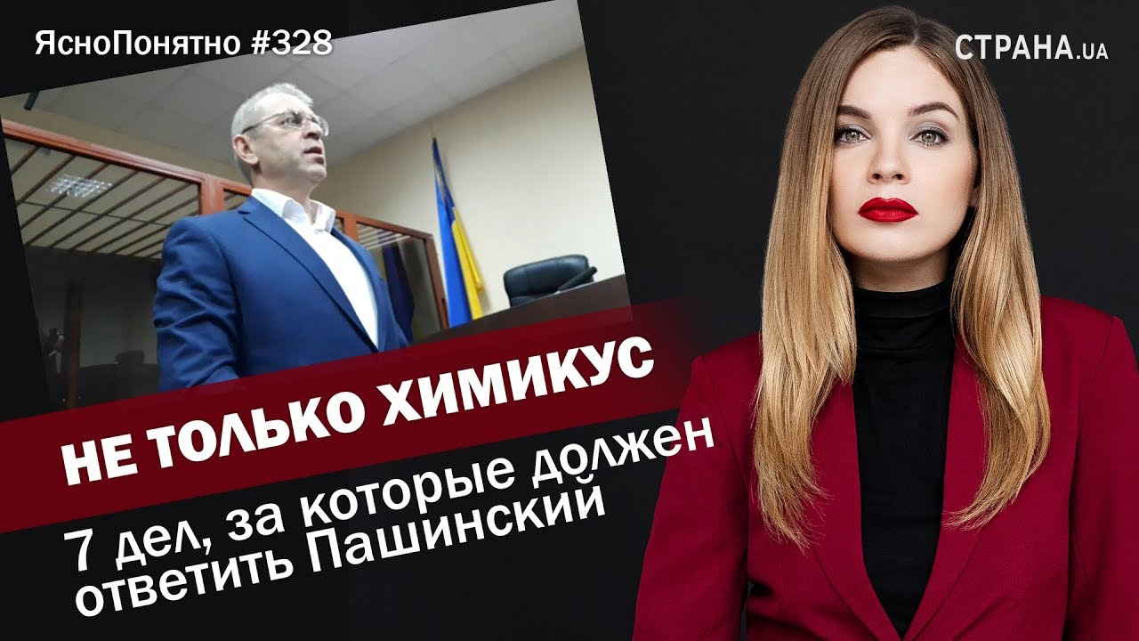 Не только Химикус. 7 дел, за которые должен ответить Пашинский | ЯсноПонятно #327 by Олеся Медведева